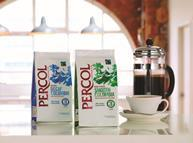 Percol recyclable packaging coffee