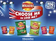 Walkers Choose Me Or Lose Me campaign