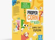 Propercorn for Kids, simply sweet variant