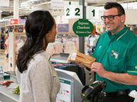 morrisons staff and customer