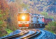 trans siberian railway train