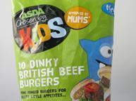 Chosen by kids burgers