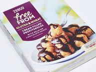 tesco gluten free profiteroles