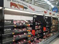 asda revamped meat aisle