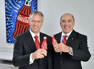 James Quincey and Muhtar Kent, Coca-Cola