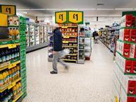 Morrisons promotions aisle