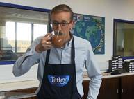 Tetley's master tea blender