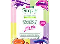 Simple Little Mix Rich Moisture Sheet Masks
