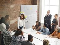 creative idea meeting business office brainstorm