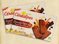 France: Amaranth and Chocolate Biscuits