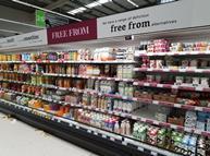 asda free from dairy alternatives aisle