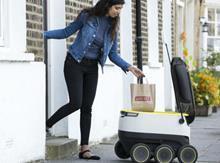 Tesco robot delivery