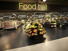 Marks & Spencer food hall