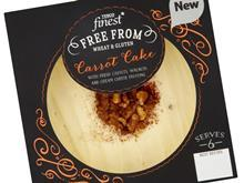 tesco finest carrot cake