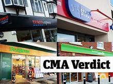 CMA Tesco Booker Merger stores