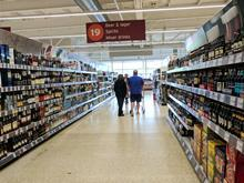 sainsbury's bws aisle