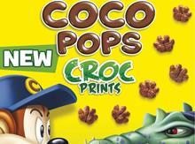 Top products cereals coco pops croc prints