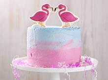 Asda flamingo cake