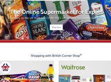 Waitrose British corner shop