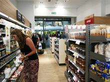 Inside Waitrose's King's Cross store