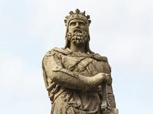 robert the bruce statue one use