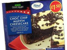 Asda muffin cheesecake
