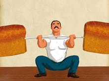 Bread barbells