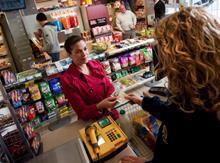 Convenience store customer