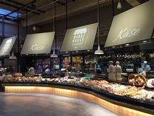 cheese counter at Markthalle Krefeld