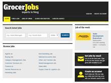 GrocerJobs website