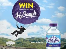 Highland Spring H2Oomph contest