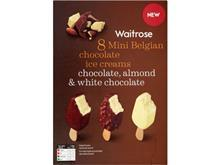 waitrose mini belgian choc ice creams