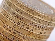 £2 coin money cash