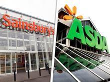 Asda and Sainsbury's merger composite shot 2