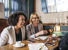 business women in meeting