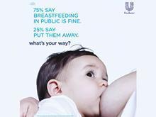 Baby Dove breastfeeding ad