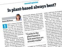 joanna blythman plant based