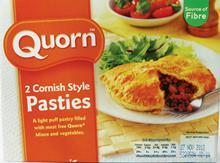 'Quornish' pasty claim falls foul of PGI regulations