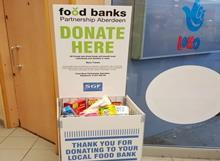 food banks scotland