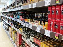 craft beer aisle