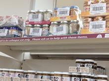 Sainsbury's shelf