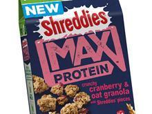 shreddies max oat and cranberry