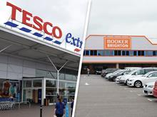 Tesco booker merge