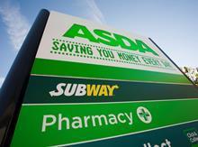 Subway at Asda