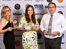 Grocer Own Label Awards 2017: The three overall winners celebrate their success