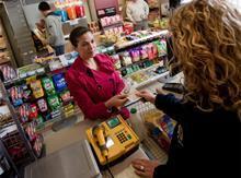 Customer/shopper with retailer