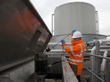 Nestle anaerobic digester Fawdon