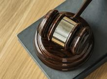 court trial gavel law