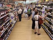 Tesco 21 supermarket aisle