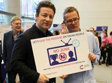 Jamie Oliver and Hugh Fearnley-Whittingstall
